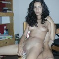 She is horny - she is from romania !!! must see