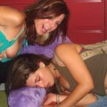 Young girls at party-  drunk teenagers - amateurs pics 21