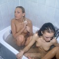 Young amateurs girl in bath no.01