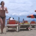 French girl, nude holidays in spain / Beach pics - 3