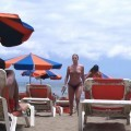 French girl, nude holidays in spain / Beach pics - 25
