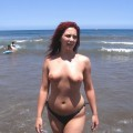French girl, nude holidays in spain / Beach pics - 50
