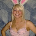 Amateur blonde girl - sexy bunny