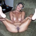 Young amateurs pussy with legs up