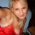 Nice blond girl and her self pics