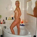 Young amateurs girl in the shower no.05