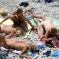 Hardcore amateurs photos from nude beach no.01