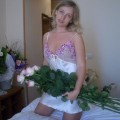 Amateur hot bride a her wedding night