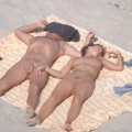 Young Nudist Couple at Beach No.01 - 8