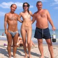 Young Nudist Couple at Beach No.01 - 31