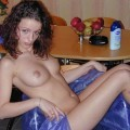 Amateur set - naked clergywoman