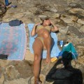 Amateur set - holiday with girlfriend at the sea