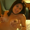 Amateur latina girl - naked chocolate body