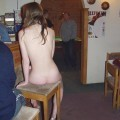 Amateur veronica - naked in pub