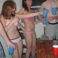 Young girls at party- drunk teenagers - amateurs pics 10