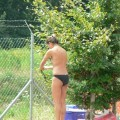 Voyeur teens at Beach (Bikini and Topless pics) - 2