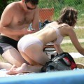 Voyeur teens at Beach (Bikini and Topless pics) - 12