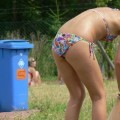 Voyeur teens at Beach (Bikini and Topless pics) - 27