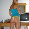 Very hot body blond gf bj on vacation