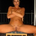 Ex girlfriend judith nice small titted and shaved