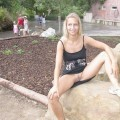 Girlfriend sarah flashing in zoo