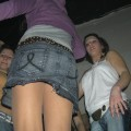 Hot teens stripping in the dance club 4