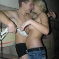 Hot teens stripping in the dance club 3