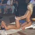 Hot teens stripping in the dance club 2