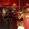 Public nude - lenka naked in bar