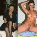 Dressed / undressed moms