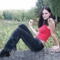 Nice ex girl chantal outdoor at farm