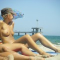 Teen on nudist beach set young teen girl fkk 2