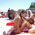 Teen on nudist beach set - young teen girl fkk