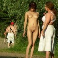 Natural outdoor nudism fkk