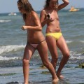 Topless teens on beach set -young teen girl fkk
