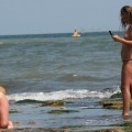 TOPLESS TEENS ON BEACH SET -Young Teen Girl FKK - 37