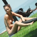 Cute outdoor nudist teens set -young bech girl fkk