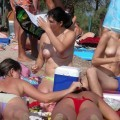 Topless teens on beach set young teen girl fkk