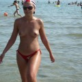 Nice girls on nudist beach