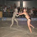 Mudwrestling girls