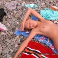 Amateurs nudist girls on the beach no.05