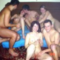 Polish amateurs mates having hardcore group sex