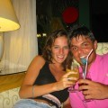 Young amateur holiday couple