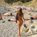 Naked girls on the beach dziewczyny nago na plazy