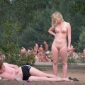 Beach voyeur nudist women MIX 12  - 35