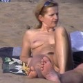 Beach voyeur nudist women mix 12