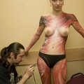 Amateurs: body art. part 2.