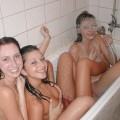 Amateurs: sharing a hot tube. part 1.