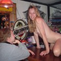 Amateurs: stripping in the pub. part 5.
