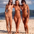 Amateurs: naked on the beach. part 4.